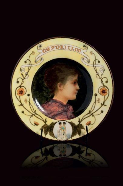 Théodore DECK (1823 - 1891)  et Sophie SCHAEPPI...