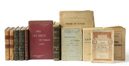 Lot comprenant 10 ouvrages non collationnés...