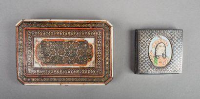 Iran, 19e siècle  Set de beauté qajar en...