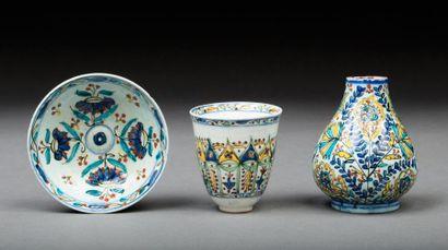 Turquie, Kütahya, 18 et 19e siècle.  Ensemble...