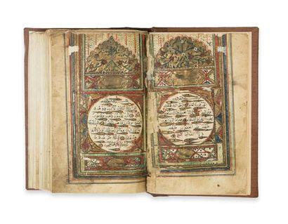 Turquie, 1845.  Coran ottoman par al-Qâdir...