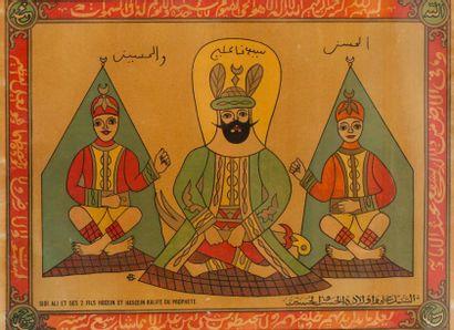 Sidi Ali et ses 2 fils Hocein et Hascein...