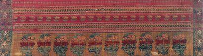 Inde, fin du XIXe siècle  Panneau composé...