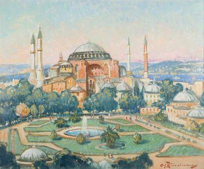 Martin LINDENAU (Né en 1948)  Constantinople,...