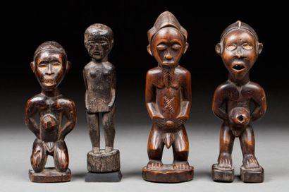 Trois fétiches de style Kongo, deuxième moitié...