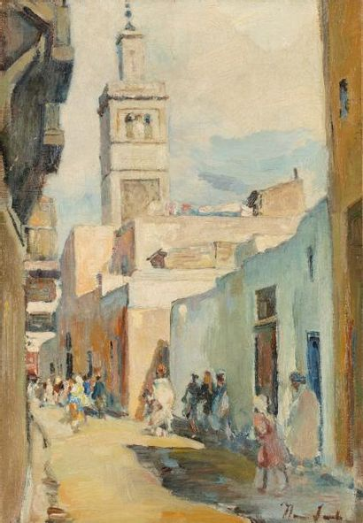 Henri SAADA (Gabès 1906- Paris 1976)  Une...