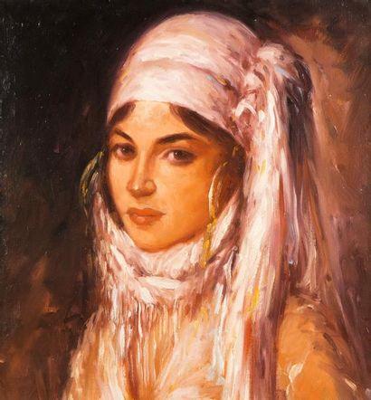 Ecole Orientaliste du XXème siècle  Portrait...