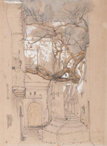 Gustave BOURNICHON (1818 - 1878)  Alger rue...