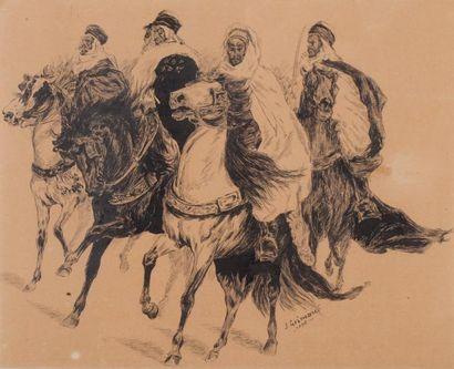 J GRIMAUD (Actif à la fin du XIXème siècle)...