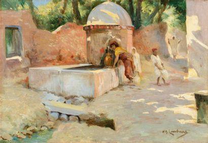 Attribué à William Adolphe LAMBRECHT (1876-1940)...