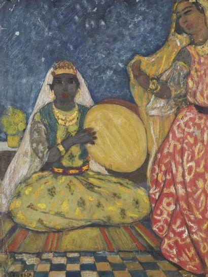 André SURÉDA (1872-1930).  Danse au son du...