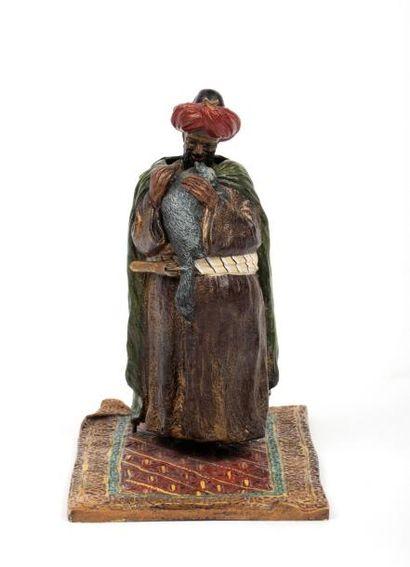 Edition BERGMANN - bronze de Vienne  Sujet...