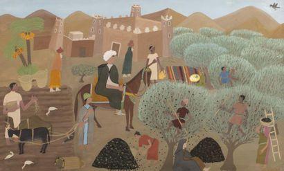 Mohamed BEN ALLAL (1924-1995) La Récolte...