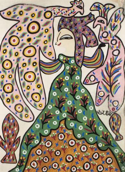 Fatmah BAYA (Bordj El-Kiffan 1931-Blida 1998)...