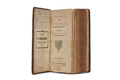 L'Alcoran de Mahomet,  Translaté d'Arabe...