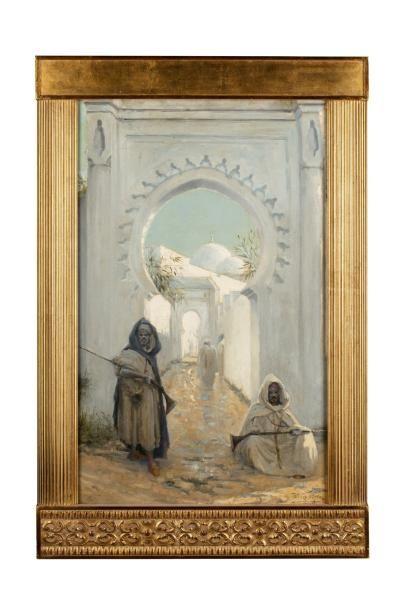 Henri VAN MELLE (1859 - 1930) Les gardiens...