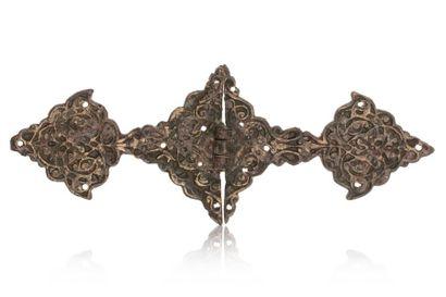 Charnière timouride  élément décoratif en...
