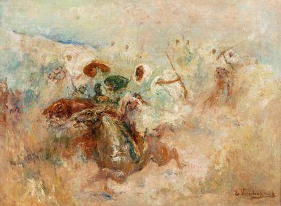 Edouard VERSCHAFFELT (1874-1955)  Fantasia...