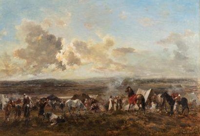 Georges WASHINGTON (Marseille 1827 - Douarnenez...