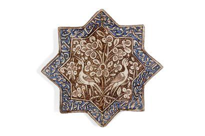 Etoile de revêtement de Kashan  en céramique...