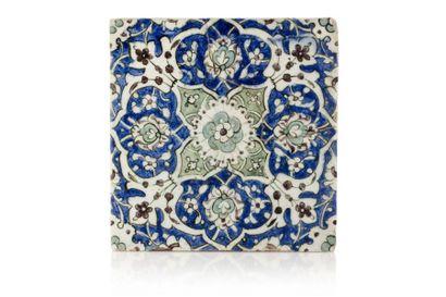 Carreau de revêtement ottoman  en céramique...