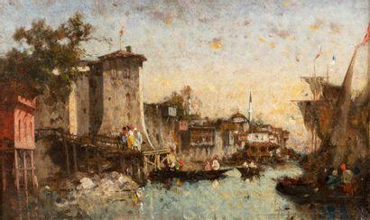 Fabius BREST (Marseille 1823 - 1900)  Constantinople,...
