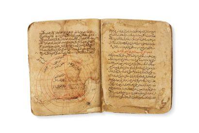 Traité cosmique du 13e-14e siècle  Manuscrit...