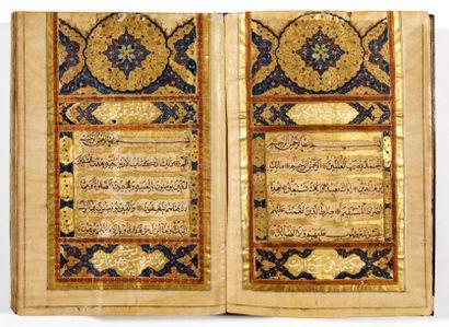 Coran ottoman du XVIe siècle  Manuscrit de...