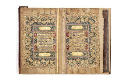 Coran signé al-Sayed 'Ali b. Mustafa b. Muhammad...