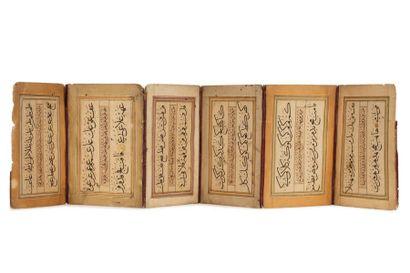 Muraqqa - Album d'exercices calligraphiques...
