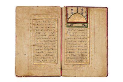 Deux Izajat ottomanes  Manuscrit en arabe...