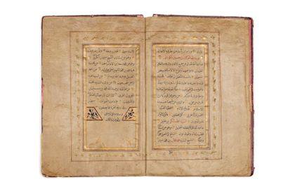 Deux Izajat ottomanes  Manuscrit en arabe sur papier, de 12 feuillets, calligraphié...