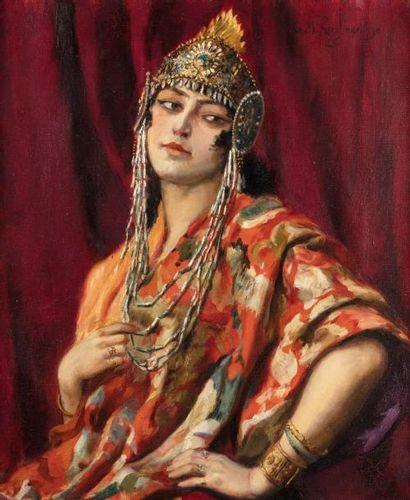 Georges ROCHEGROSSE (Versailles 1859 - 1938)...