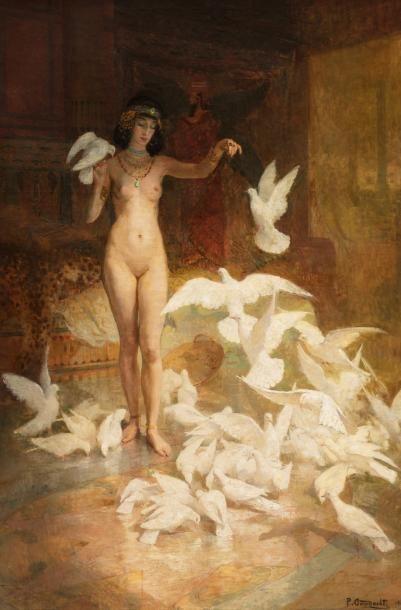 Pierre GOURDAULT (Paris 1880 - Givenchy le Noble 1915)   Salammbô  Huile sur toile...