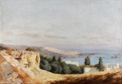 Joseph SINTES (Alaior1829 - Alger 1913)  Vue...