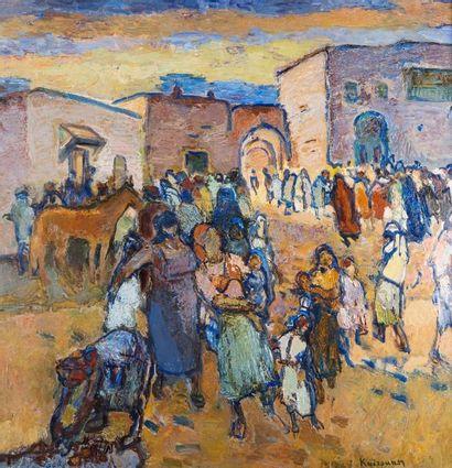 Henri SAADA (Gabès 1906- Paris 1976)  Kairouan...