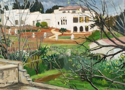 Henry CHEVALER (Poitiers 1886- Alger 1945)...
