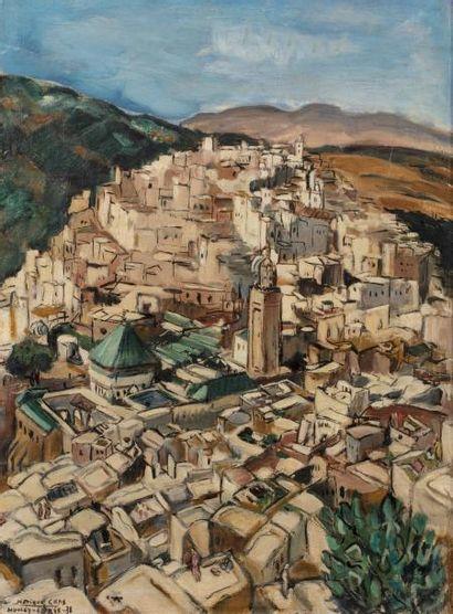 Monique CRAS (Brest 1910 - Paris 2007)  Moulay-Idriss...
