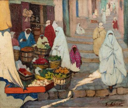 Gustave LINO (Mulhouse 1893 - Alger 1961)...