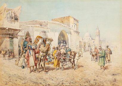 Mariano de FRANCESCHI (Rome 1849 - 1896)...