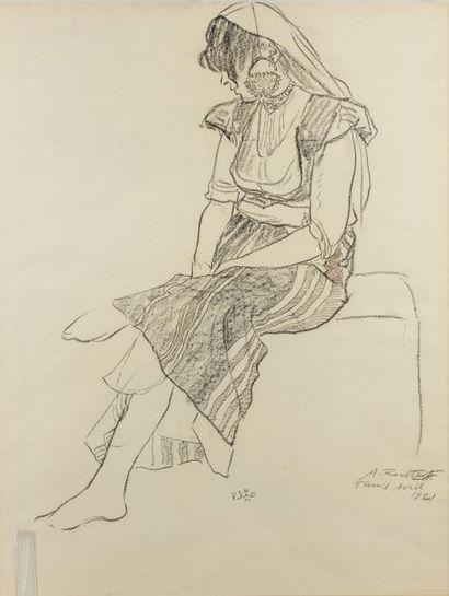 Alexandre ROUBTZOFF (Saint Petersbourg 1884...