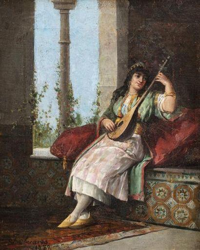 J. SUAREZ (Actif à la fin du XIXème siècle)...