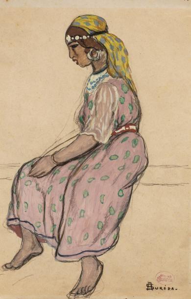 André SUREDA (Versailles 1872 - 1930)  Jeune...
