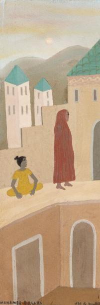 Mohamed BEN ALLAL (1924-1995)    Femme au...