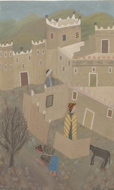 Mohamed BEN ALLAL (1924-1995)    Un Village...