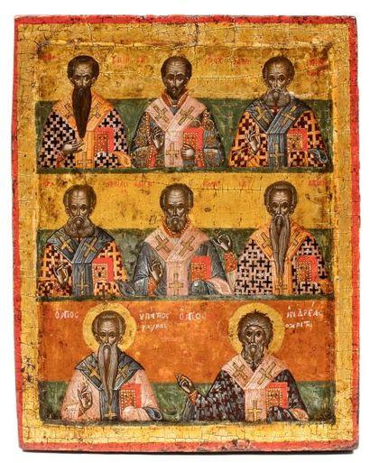 Réunions de saints pères de l'Eglise.  Au...