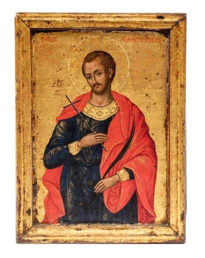 Saint Marc le Jeune. Grèce XIXe s.  Originaire...