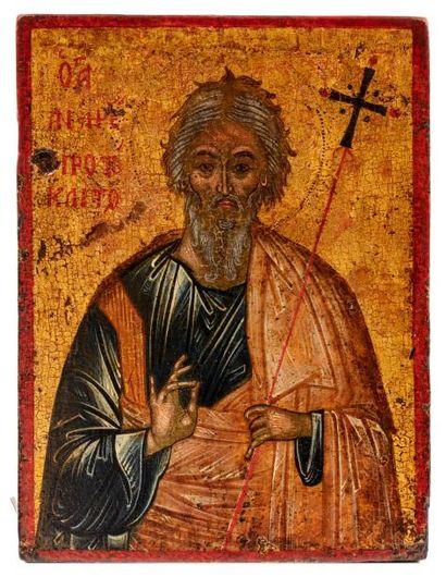 Saint André. Grèce XVIIIe s.  Premier appelé...