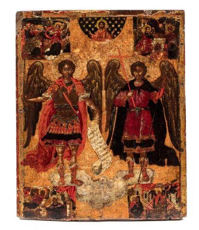 Les archanges Saint Michel et saint Gabriel....