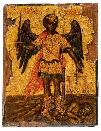 Archange Michel. Grèce Fin XVIIe / XVIIIe...